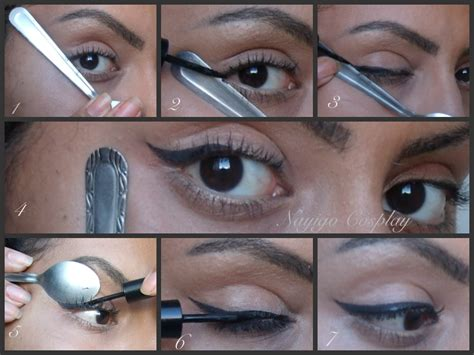 Eyeliner Tutorial Spoon | eyeliner tutorial using a spoon by nayigocosplay on deviantart