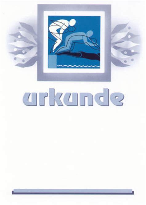 urkunden onlinecom urkunden schwimmen emblem