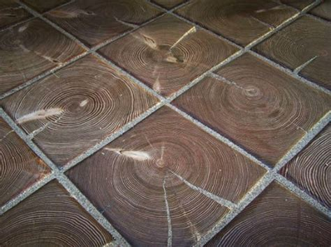 Wood Block Flooring and Paving
