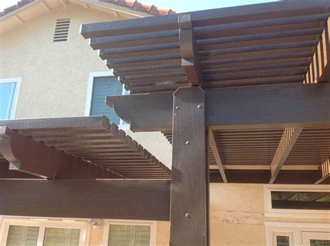 solid roof covers north county lattice shade covers north county residential patios