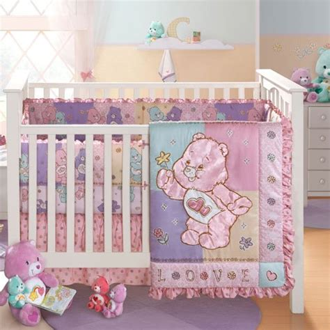 affordable crib bedding cheap price care bears bedding crib set infant girls