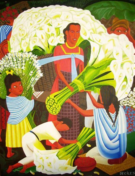 imagenes figurativas no realistas de diego rivera mercado de flores diego rivera paulina molina deciles