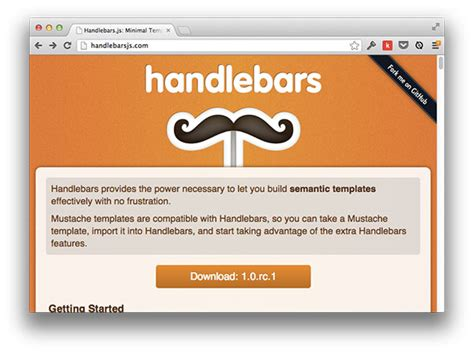 handlebar templates best practices when working with javascript templates