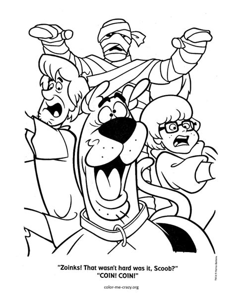 halloween coloring pages scooby doo free coloring pages of scooby doo halloween