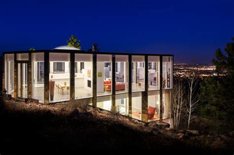 glass house denver glass house boulder co contemporary exterior denver by nyceone photography