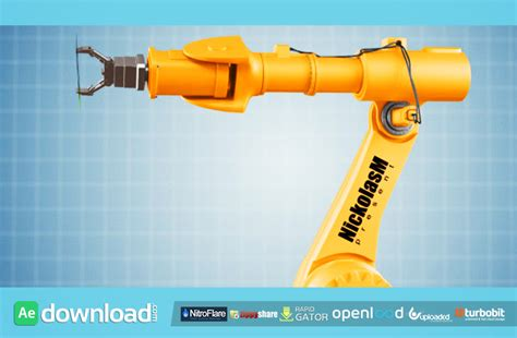 industrial robot videohive template free download free
