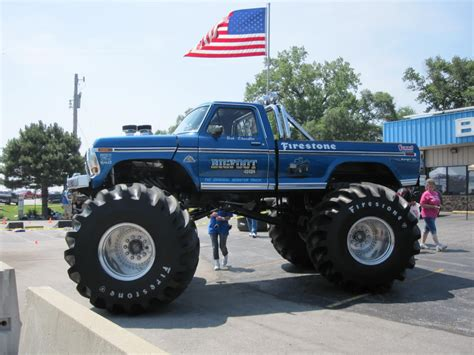 monster truck bigfoot call to arts bigfoot monster truck needs your help with