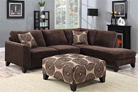 The Furniture Shack by Malibu Brown Sectional The Furniture Shack Discount