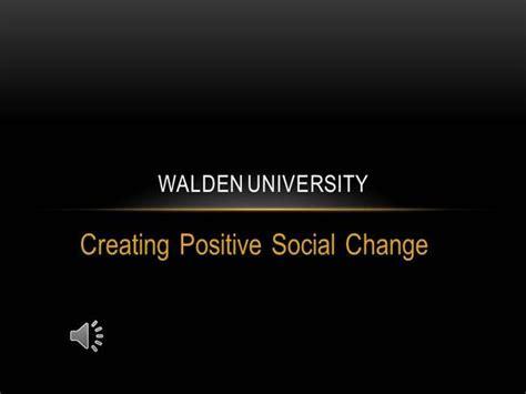 Walden University Video Contest 2 Authorstream Walden Template