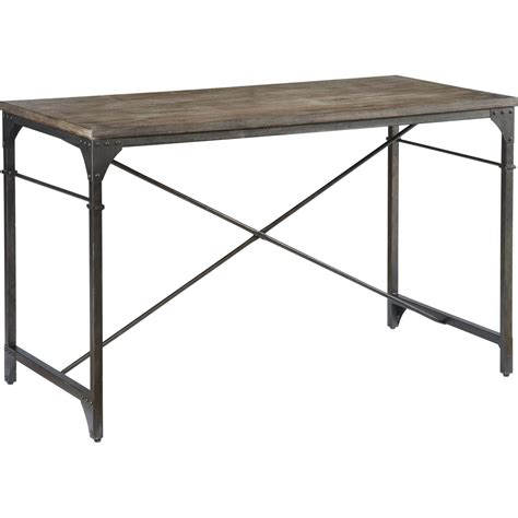 console accent tables signature design by ashley rustic accent console desk