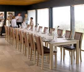 Wharfside long dining table ai24 danish wood dining furniture