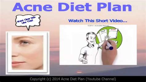 Detox Diet Plan For Acne Skin by Acne Diet Plan Proven Acne Diet That Works Within 60