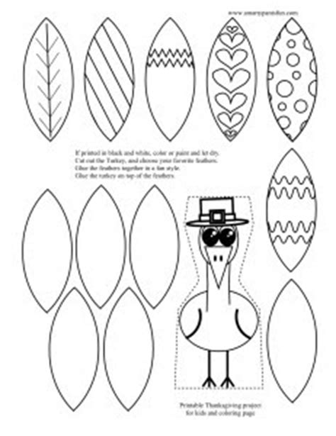 thanksgiving printable cut out crafts smarty pants fun printables free printable turkey