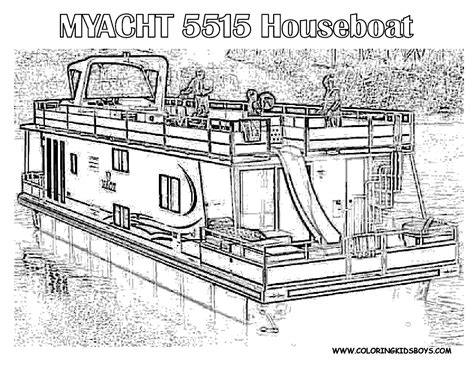 Rugged Boat Coloring Page Boats Free Ship Coloring Colour Pages Hull