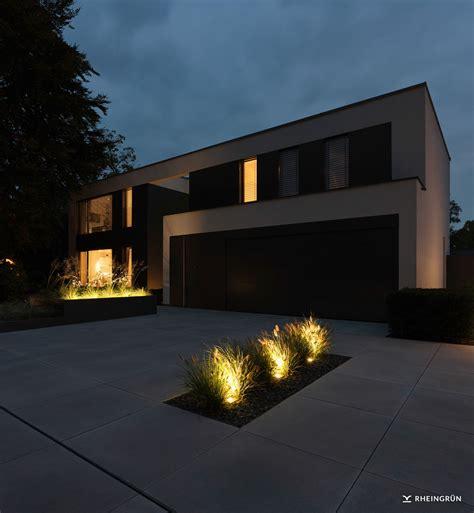 moderne hochbeete moderner vorgarten mit hochbeet ziegr 228 sern und