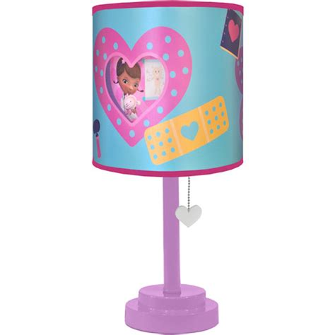 disney doc mcstuffins table l with diecut shade