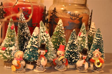 Vintage Christmas Decorations | swoon studios musings vintage wednesday vintage