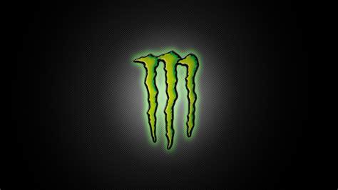 mã nster logo energy monsters green grey backgrounds sport