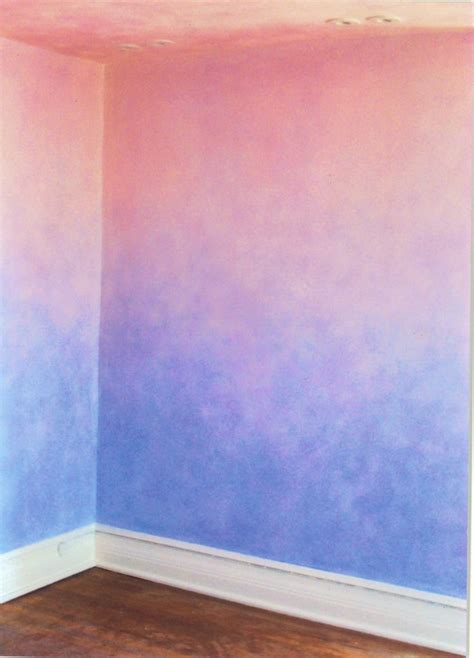 ombre wall best 25 paint techniques wall ideas on pinterest