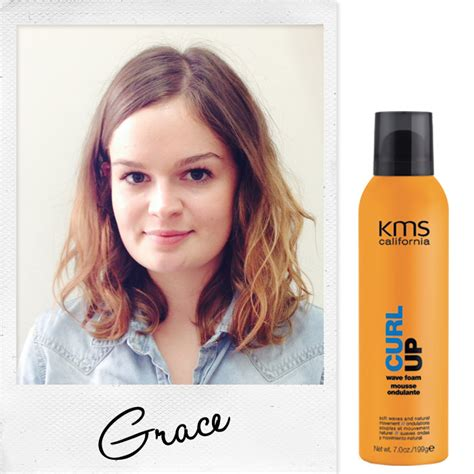 executive hair blo put to the test kms california products on four different