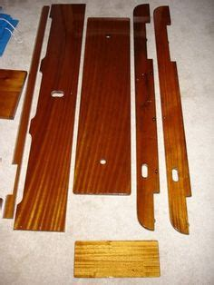 boston whaler boat cleats wood replacement parts for vintage boston whaler boats
