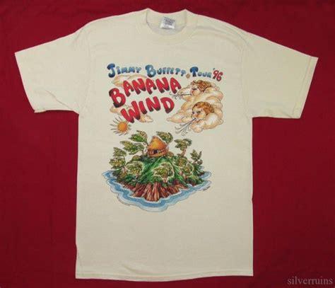 jimmy buffett vintage t shirt tour concert 1996 banana