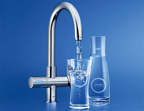 grohe grohe blue chilled sparkling water filter