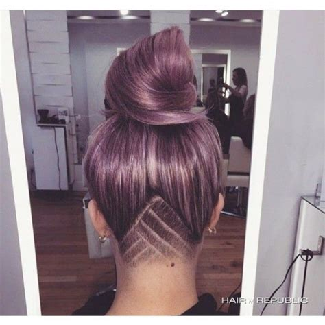 Triangle With Slight Graduation With Shaved Head | 25 best ideas about undercut long hair on pinterest