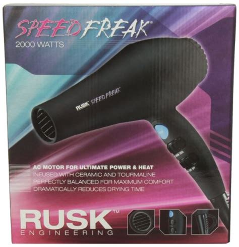 Rusk Hair Dryer Ebay rusk speed freak professional ceramic tourmaline hair dryer 2000 watts new f ebay