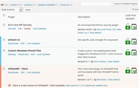 themes for lock ins how to lock themes plugins from being updated wp solver