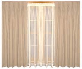 Fireside Thermal Insulated Drapes 48 Inch Wide Pair