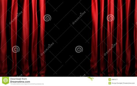 Velvet Stage Curtains Velvet Stage Curtains Royalty Free Stock Photography Image 9381577