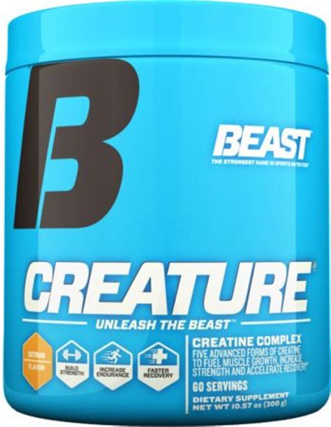 beast sports nutrition creature at bodybuilding best