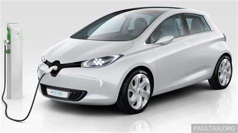 renault zoe electric renault zoe electric vehicle now available in malaysia