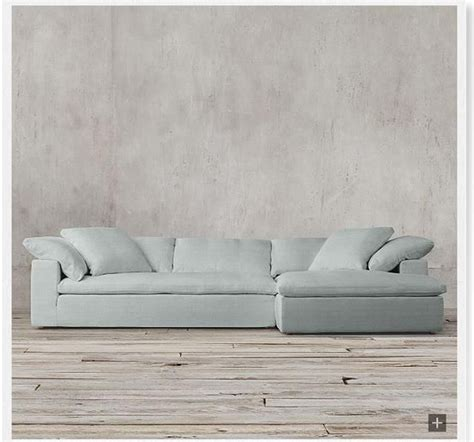 restoration hardware fabric sofas restoration hardware cloud track arm sofa color spruce