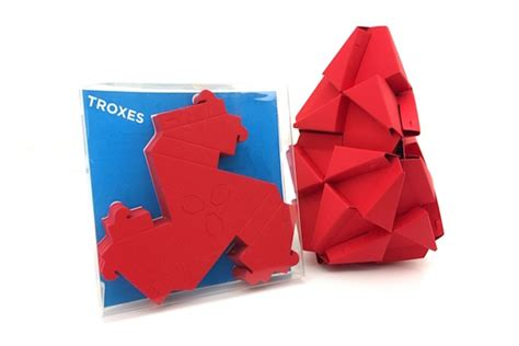 Origami Blocks - triangular blocks inspired by origami and lego that will