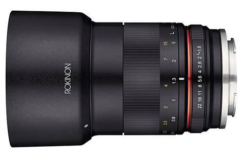 Lensa Samyang 85mm F 1 4 For Canon samyang umumkan lensa 85mm f1 8 untuk kamera mirrorless