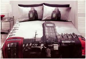 london bedroom set london quilt doona cover set queen size bedding big ben uk