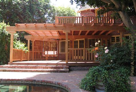 Arbor Swing Plans by Los Angeles Wood Decks Amp Composite Decking Beautiful