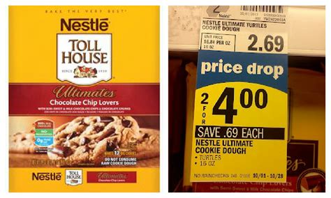 email nestle nestle toll house ultimates only 0 50 at meijer
