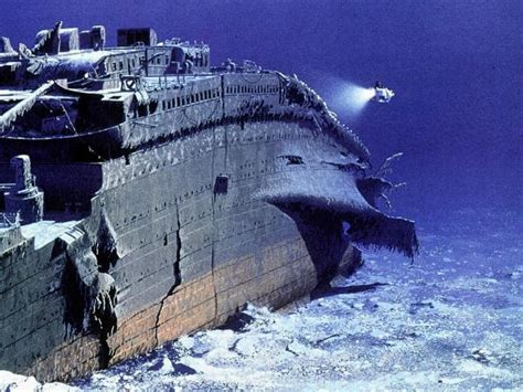 the titanic in the floor the titanic shipwreck could disappear from floor by 2030