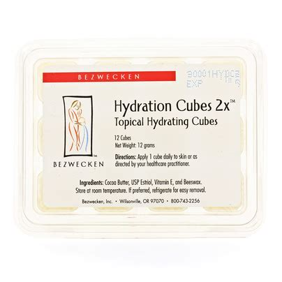 hydration cubes bezwecken hydration cubes 2x 12 cubes