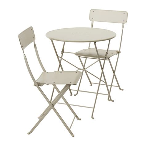 Folding Outdoor Table And Chairs Saltholmen Table And 2 Folding Chairs Outdoor Ikea