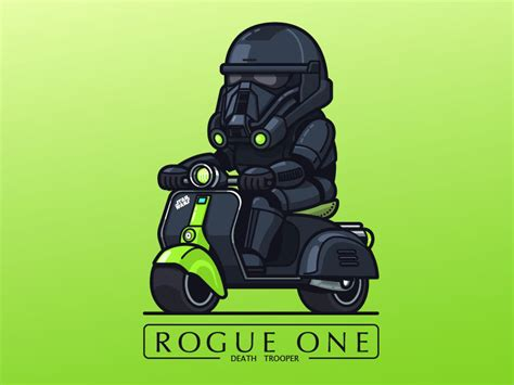 Wars Trooper Vehicles by Wars Rogue One Troopers In Tiny Vehicles Sci Fi Design