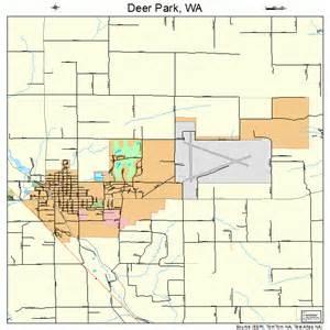 deer park washington map 5317320