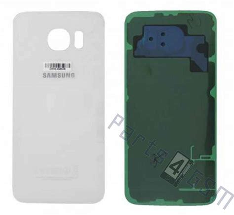 s6 samsung battery samsung g920f galaxy s6 battery cover white gh82 09548b parts4gsm
