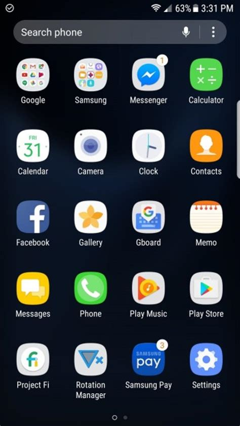 Samsung App Drawer Icon by How To Hide And Unhide Apps On Samsung Galaxy S8 Easyacc Media Center