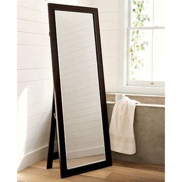 classic floor mirror from pottery barn home decorating