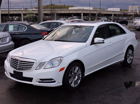 Mercedes E 350 2013 Used 2013 Mercedes E 350 Luxury E 350 Luxury At