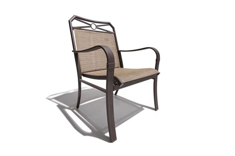 patio chair sling strathwood rawley sling chair set of 2